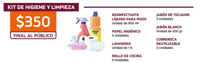 Kit de higiene y limpieza