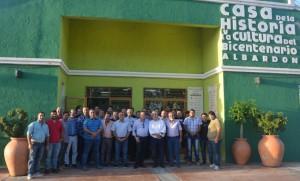 Díaz Cano se reunió con la nueva Cámara de productores bajo invernadero