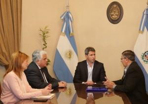 Uñac recibió al nuevo vicepresidente de la regional Cuyo de la CAME