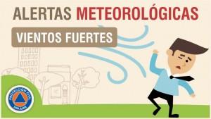 Alerta Meteorológica N° 67 - Viento sur