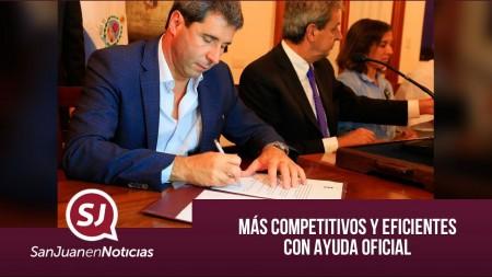 Más competitivos y eficientes con ayuda oficial | #SanJuanEnNoticias