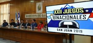Uñac presentó oficialmente los Juegos Binacionales San Juan 2019