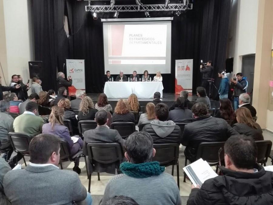 Jáchal realizó la tercera actividad colectiva del Plan Estratégico de Desarrollo Local