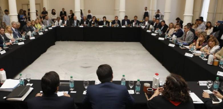Los ministros De Los Ríos y López se reunieron con Trotta previo a la paritaria nacional docente