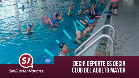 Decir deporte es decir Club del Adulto Mayor | #SanJuanEnNoticias