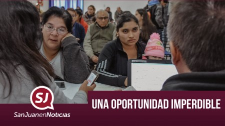 Una oportunidad imperdible | #SanJuanEnNoticias