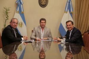 Uñac recibió al presidente del Instituto Nacional Sanmartiniano