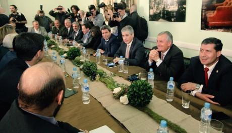 Gobernadores se reunieron por el Fondo del Conurbano