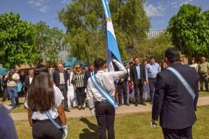 El CENS de la Comunidad Terapéutica San Benito presentó su Bandera de Ceremonia