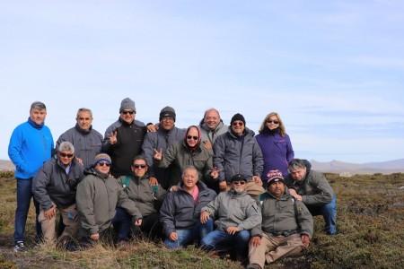 Un recorrido por los lugares emblemáticos de Malvinas que estuvo cargado de emoción