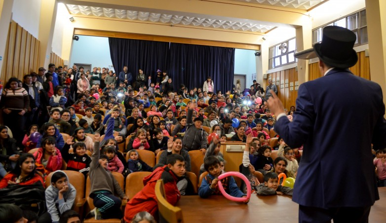 Más de 150 niños festejaron su día en el Hospital Marcial Quiroga