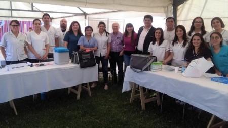 Los equipos de salud estuvieron presentes en el Abordaje Territorial de Santa Lucia