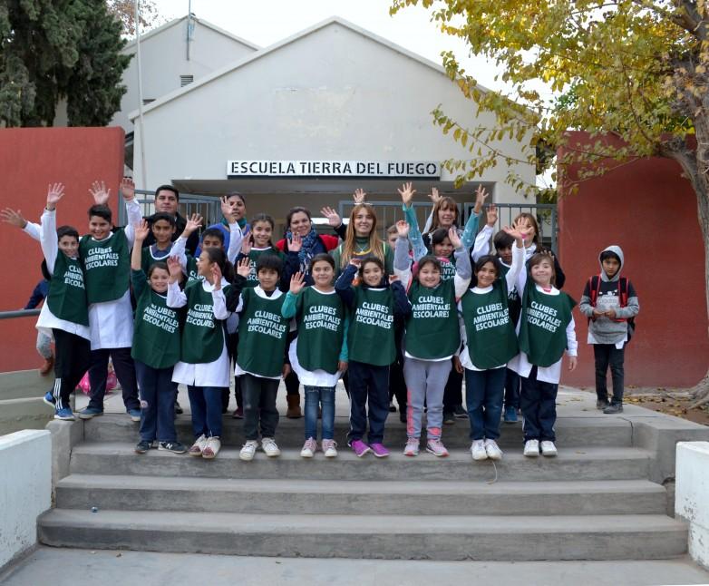 """Los """"Guardianes de El Abanico"""" realizaron una jornada ambiental con la comunidad"""