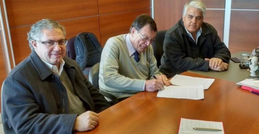 Firma de Convenio entre la Secretaría y la Agencia Calidad San Juan