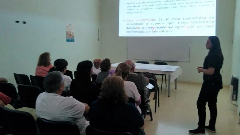 La Zona Sanitaria III implementó acciones para vacunar a la población contra el sarampión