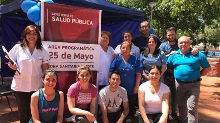 El Centro de Salud Santa Rosa desarrolló actividades de prevención para la comunidad