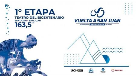 Volvé a ver la primera etapa de la Vuelta a San Juan 2020