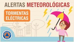 Alerta Meteorológica N° 62 - Tormentas