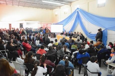 Inauguraron puntos de Acceso de Internet en la Localidad de Astica