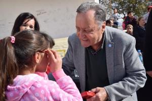 Abordaje Integral: más de 2.000 vecinos de Pocito recibieron sus anteojos