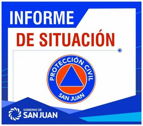 Informe preliminar - Sismo en San Juan