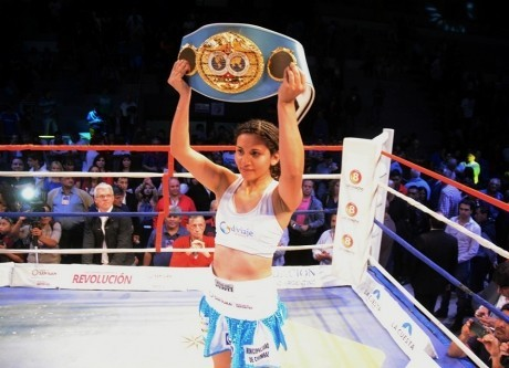 Leonela Yúdica continúa siendo campeona mundial