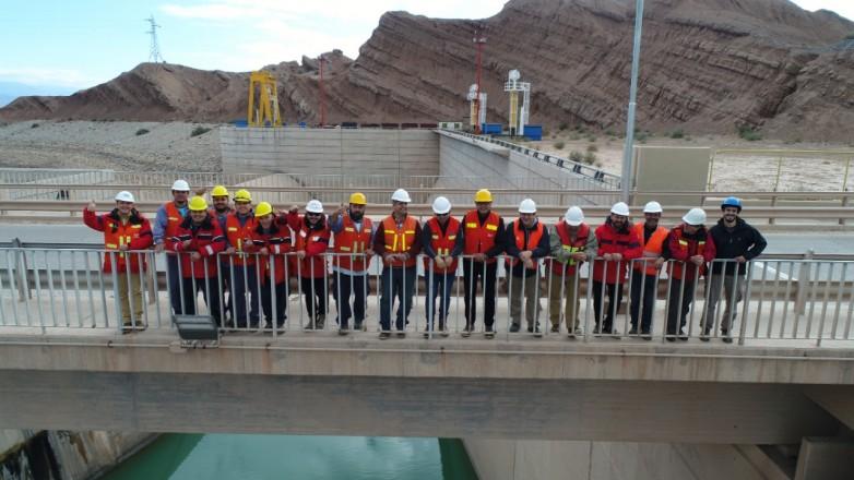 OSSE realizó la desobstrucción de un conducto y se normalizará el trabajo de medición de caudal