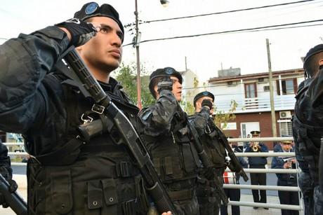 Con distinciones, celebraron el Día Nacional del Policía