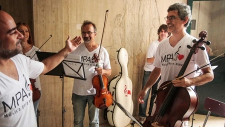 Cuando la música sana el alma: una orquesta tocará en el Eva Duarte