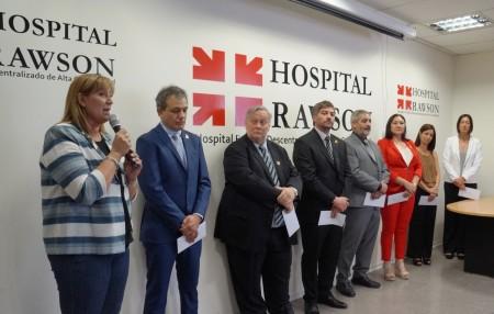 Asumieron nuevas autoridades en el Hospital Rawson