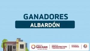 Sorteo Provincial de Vivienda: ganadores en Albardón