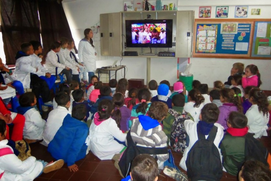 Así será la actividad en las escuelas durante los partidos de Argentina
