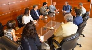 El ministro Sánchez se reunió con las nuevas autoridades del Foro de Abogados