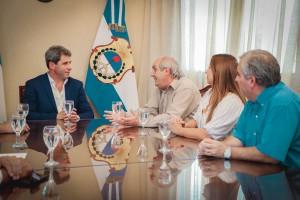 Referentes del Movimiento Nacional Alfonsinista mostraron su apoyo a la gestión de Sergio Uñac