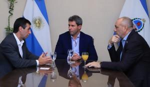 Sergio Uñac recibió la visita del coordinador ejecutivo del Fondo Fiduciario Federal