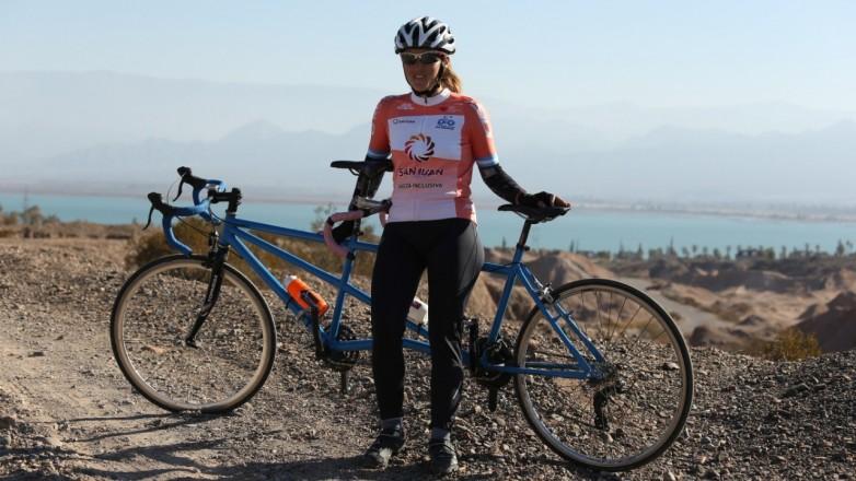 """Así entrena """"Majo"""" Quiroga, ciclista del programa de Deporte Adaptado"""