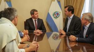 Sergio Uñac recibió al CEO de Raízen Argentina
