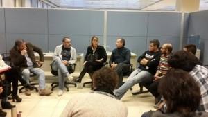 Reunión de diferentes áreas con espacios de la diversidad