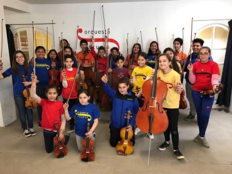 La Orquesta Escuela San Juan tocará por primera vez en otra provincia