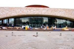 """Última etapa en la obra """"Teatro del Bicentenario"""""""