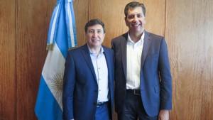 El ministro Aballay mantuvo su primera reunión con autoridades nacionales