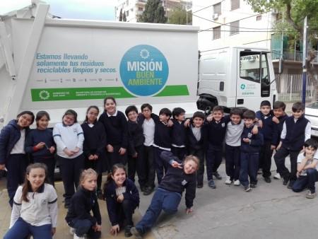 En sólo dos meses, alumnos juntaron 21 toneladas de materiales reciclables