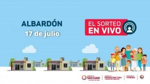 Sorteo Provincial de Vivienda: continúa el sorteo de Albardón