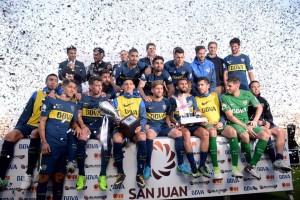 El 6 de octubre se enfrentarán San Martin - Boca en San Juan