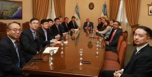 Empresarios mineros chinos fueron recibidos en Casa de Gobierno