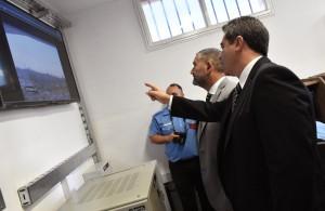 El Servicio Penitenciario sumó una nueva sala de monitoreo y equipamiento