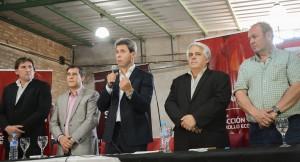 Entregaron beneficios para el sector ganadero en Angaco