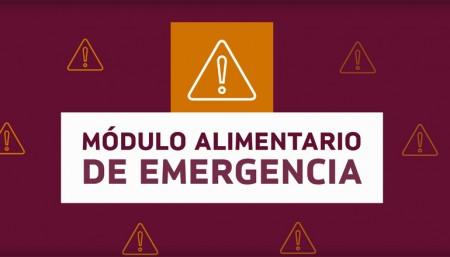 Continúan las inscripciones para solicitar el Módulo Alimentario de Emergencia