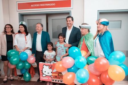 Los hospitales de Sarmiento y Pocito tuvieron regalitos de los Reyes Magos