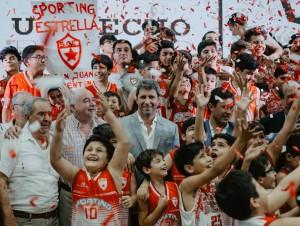 El Sporting Estrella se convirtió en el primer club de básquetbol con cancha techada